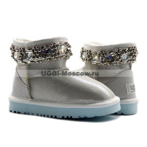 KIDS Ugg & Jimmy Choo Crystals - I DO!