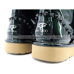 UGG & Jimmy Choo Mini SPIKES - Green