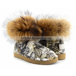 UGG & Jimmy Choo TRAVEL FOX - Grey