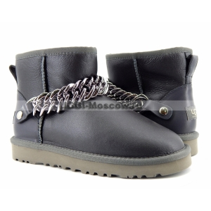 UGG Women Mini Zanotti Metallic - Grey