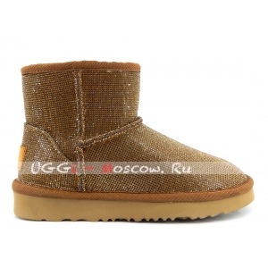 UGG & Jimmy Choo Mini Serein II - Gold