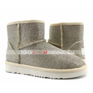 UGG & Jimmy Choo Mini Serein II - Silver