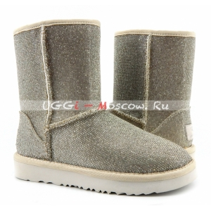 UGG & Jimmy Choo Short Serein II - Silver