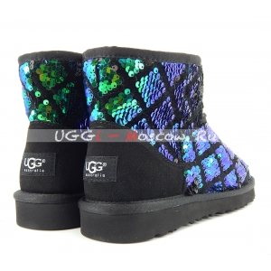 Ugg Women Mini Sparkles - Multi Green