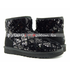 Ugg Women Mini Sparkles - Black