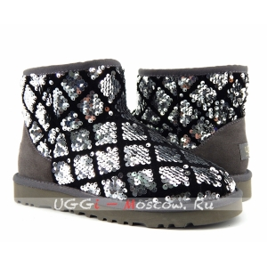 Ugg Women Mini Sparkles - Silver