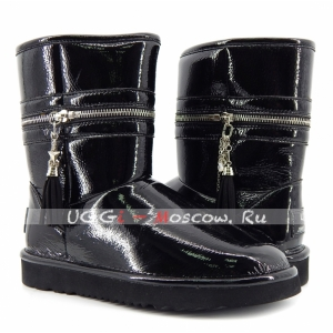 UGG & Jimmy Choo Zipper - Black