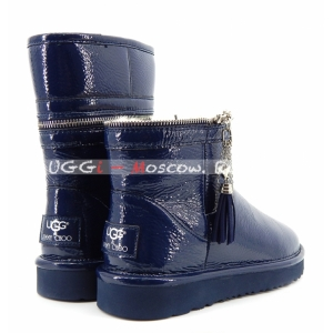 UGG & Jimmy Choo Zipper - Navy