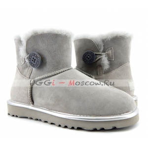 Ugg Women Bailey Button II Metallic - Gryser