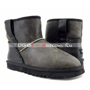Ugg Men Classic Mini STITCH - Grey