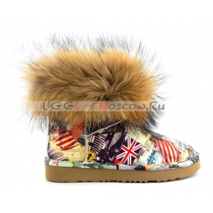 UGG & Jimmy Choo TRAVEL FOX - Orange