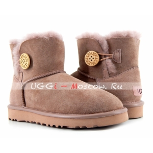 Ugg Women Bailey Button II Metallic - Milk Coffee