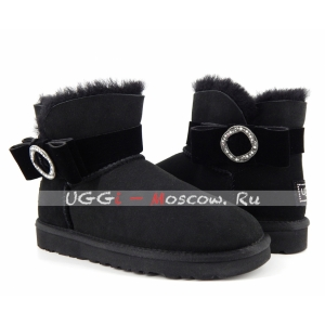 Ugg Women Karlie Brooch - Black