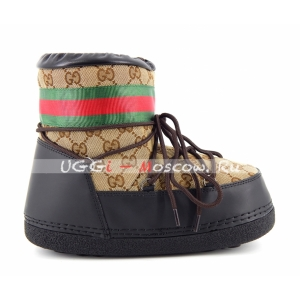 Moon Boot Gucci - Chocolate
