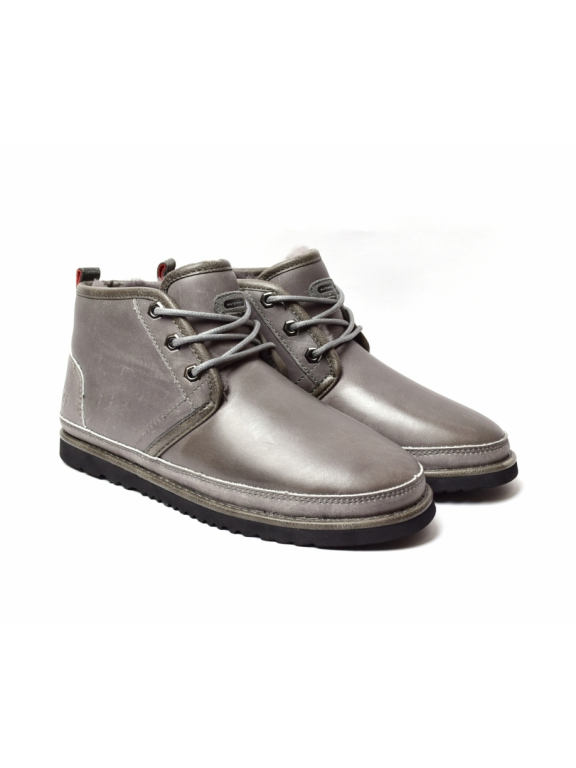 Men NEUMEL Waterproof Boot - Charcoal